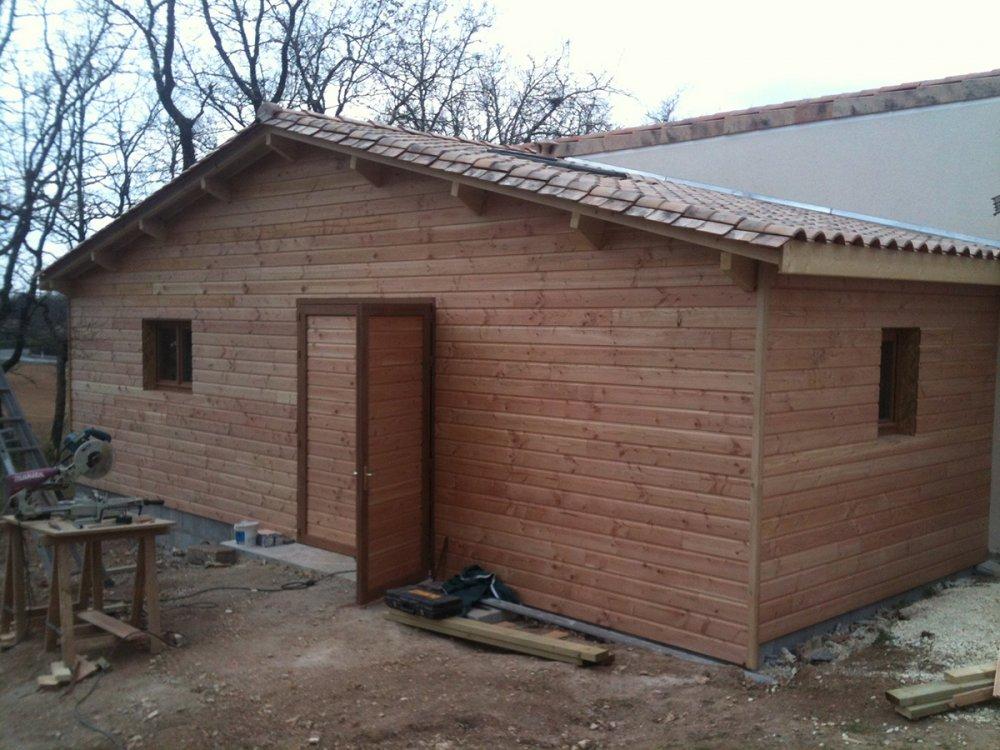 Menuiserie landry dupuy cabane de jardin for Interieur exterieur